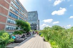 High Line Park Stock Photography