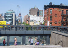 High line park in New York Royalty Free Stock Images
