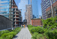 High line park in New York Stock Photography