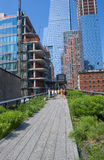 High line park in New York Royalty Free Stock Image