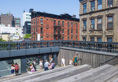 High line park in New York Royalty Free Stock Photo