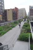 The High Line Park New York City Tom Wurl Stock Photo