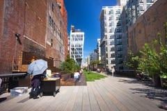 High Line Park NYC Stock Photos