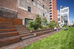 High Line Park NYC Royalty Free Stock Photos