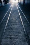 High Line Park Rails Stock Image