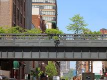 High Line Park Stock Images