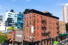 High Line Park views Manhattan New York US Stock Photos