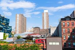 High Line Park views Manhattan New York US Stock Image