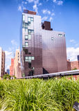 The High Line and surrounding buildings, New York City Stock Photo