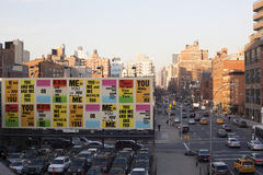 High Line View Royalty Free Stock Photo
