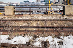 High Line and West Side Yard NYC Stock Photography