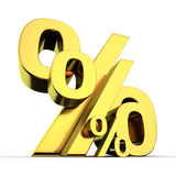 High and low percentages Stock Photos