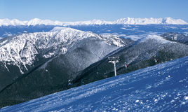 High and low tatras royalty free stock photo