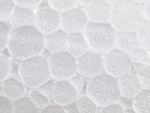 High magnification styrofoam foam texture Stock Photo