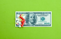 High medical cost Stock Image