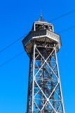 High metal tower Royalty Free Stock Photography