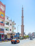 The high minaret Stock Image