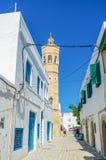 The high minaret Royalty Free Stock Image