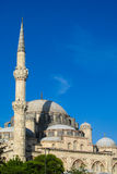 High minaret in a mosque Stock Photography