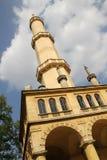 High minaret tower Royalty Free Stock Image