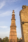 High minaret tower Royalty Free Stock Photo