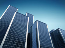 High modern buildings Stock Photography