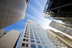 High modern buildings Stock Image
