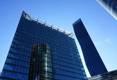 High modern buildings Royalty Free Stock Photography