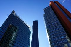 High modern buildings Royalty Free Stock Image