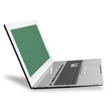 high modern computer laptop.New computer technologies Stock Image