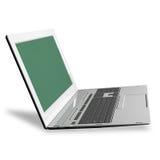 high modern computer laptop.New computer technologies Stock Image