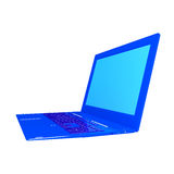 high modern computer laptop.New computer technology Royalty Free Stock Photography