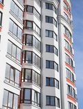 High modern residential building Royalty Free Stock Images