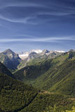 High Mountain. In the Spanish Pyrenees stock image