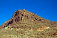 High mountain. A high mountain on the Gran-Canaria Stock Photo