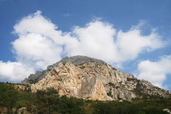 A high mountain Royalty Free Stock Images