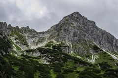 High mountain in Austrian Alps, Stock Images