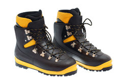 High mountain boots Stock Photos