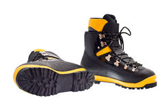 High mountain boots Royalty Free Stock Image