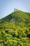 High mountain cliff in Crimea Stock Photo