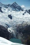 High mountain Cordilleras Royalty Free Stock Photography