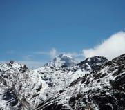 High mountain Cordilleras Royalty Free Stock Images