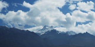 High mountain Cordilleras Stock Images