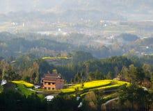 High mountain farmhouse Royalty Free Stock Photo