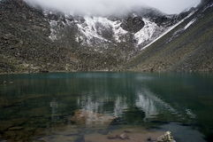 High Mountain Lake. In the Mountain Altay Stock Photography