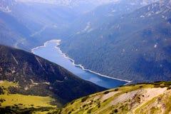 High mountain lake Royalty Free Stock Image