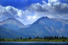 High Mountain Lake in Colorado Rocky Mountains Stock Photos