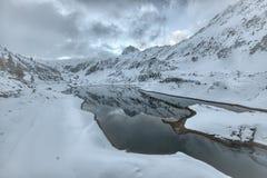 High mountain lake Stock Images