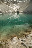 High Mountain Lake. Mountain lake with pure water Royalty Free Stock Images