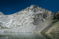 High mountain lake Stock Photo